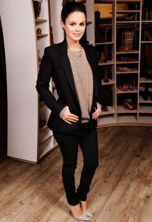 20 Ways To Wear Plain Black Blazers For Women 2019