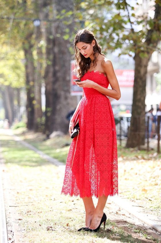 Red Dresses Styling Tips 2019
