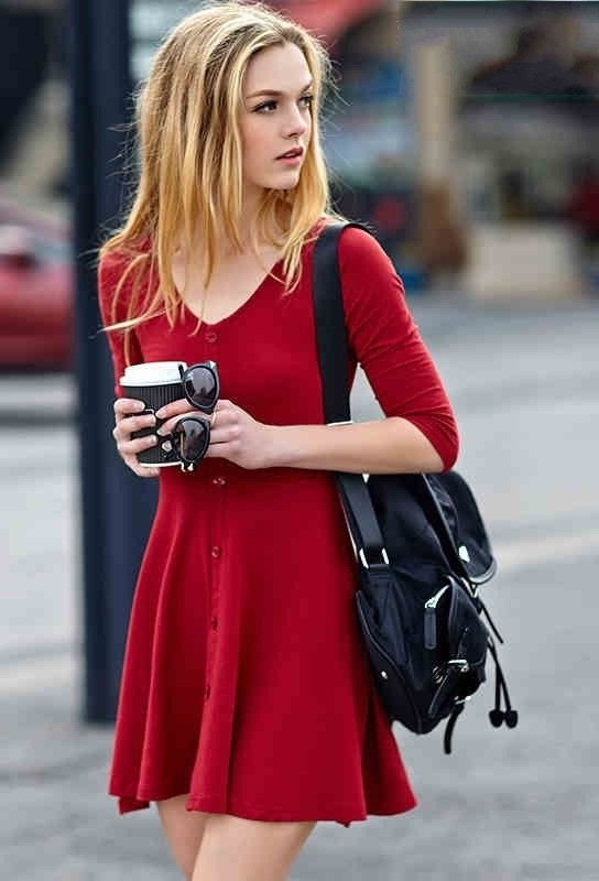 Red Dresses Styling Tips 2021