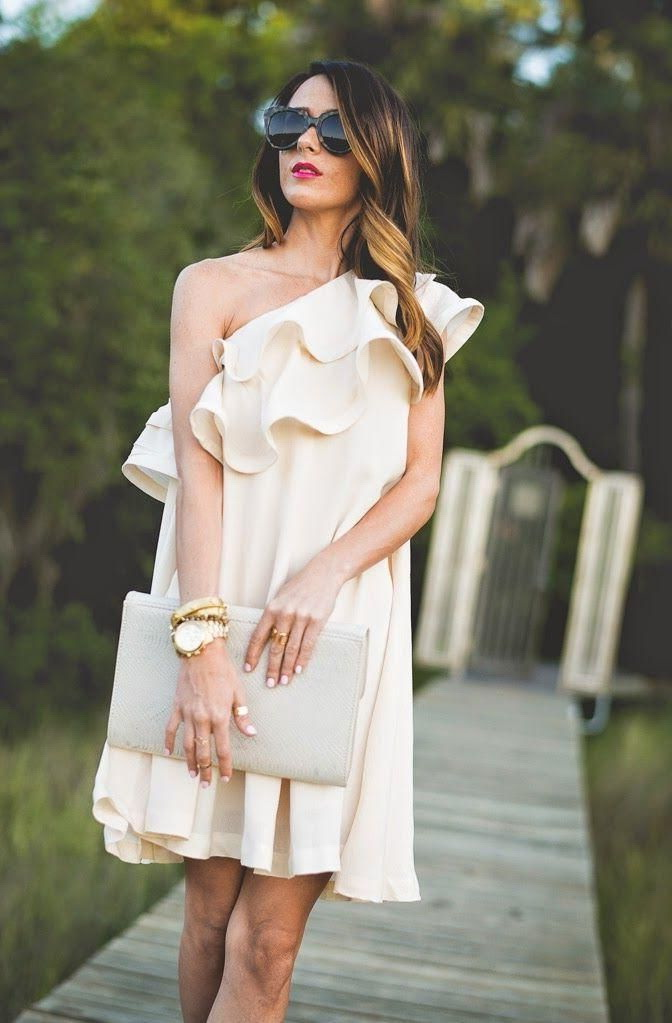 The Best One Shoulder Dresses Styles 2021