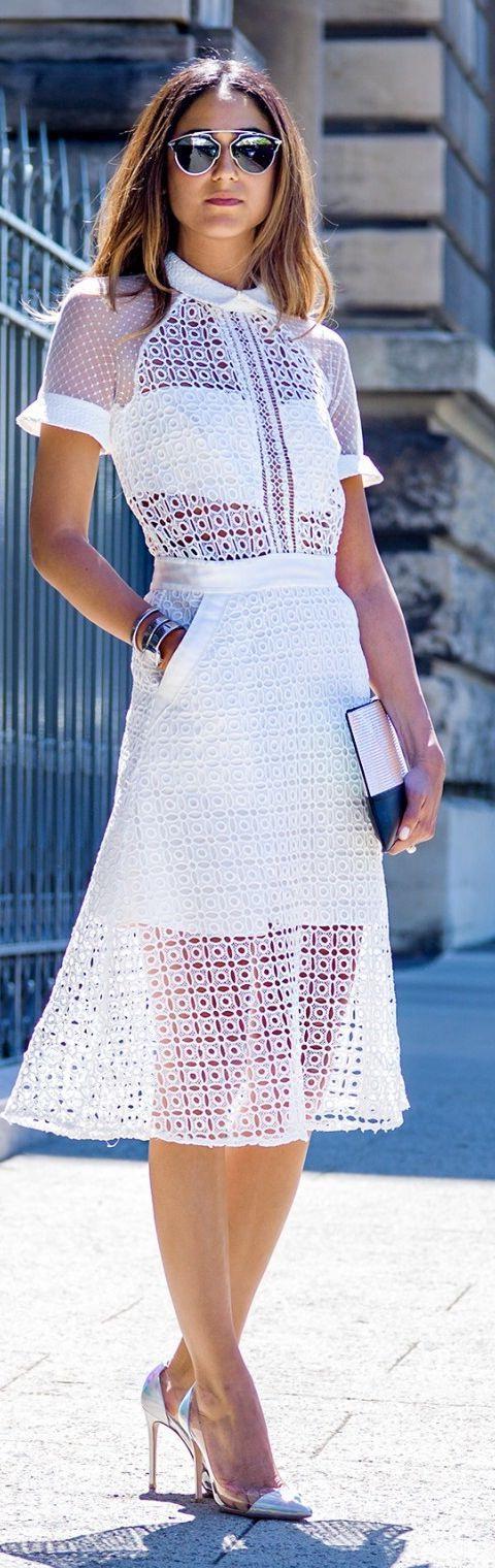 White Lace Dresses 2021