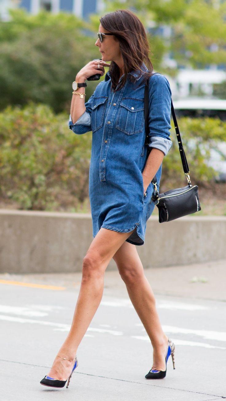Blue Denim Dresses 2019 Fashiontasty