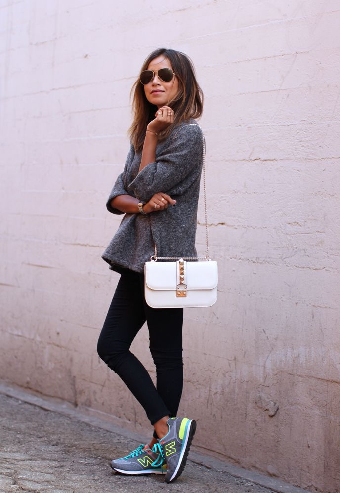 Sporty Chic Outfit Ideas 2018