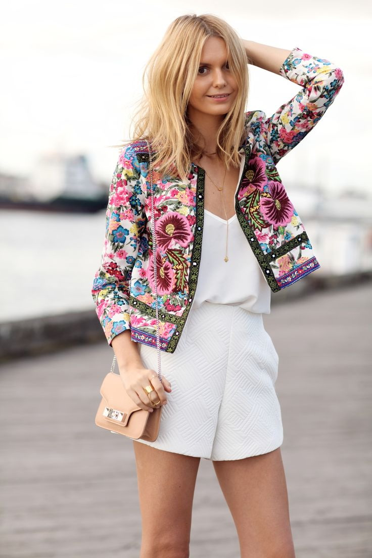 15 Ways To Wear A Printed Blazer 2019