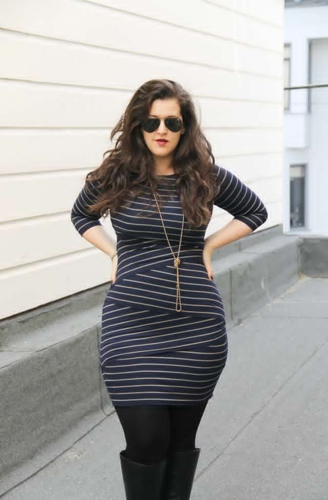 Casual Striped Dresses 2021