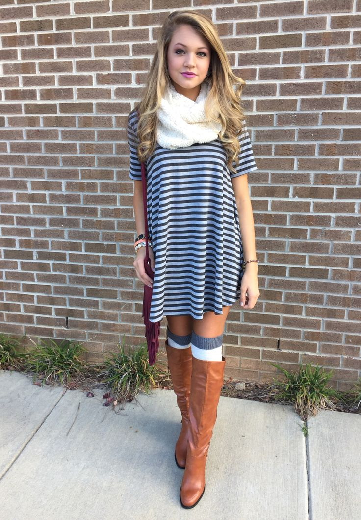 Casual Striped Dresses 2019