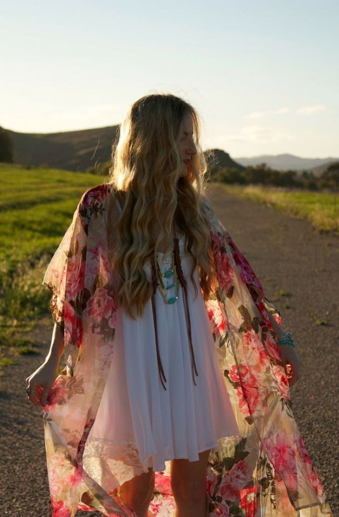 Outfit Ideas For Bohemian And Hippie Lovers 2021