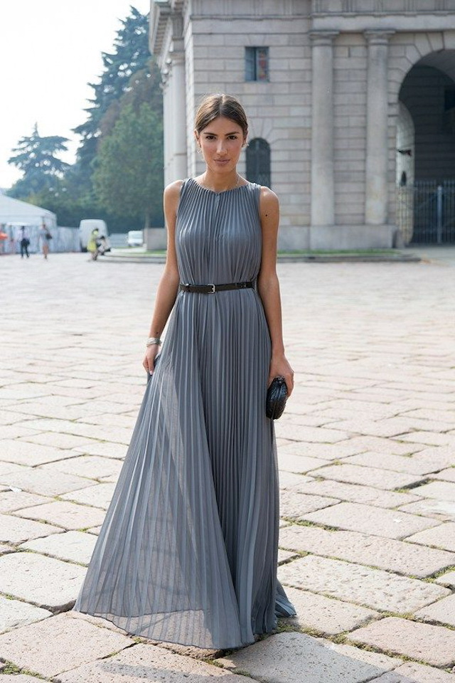 Cute Pleated Dresses 2021