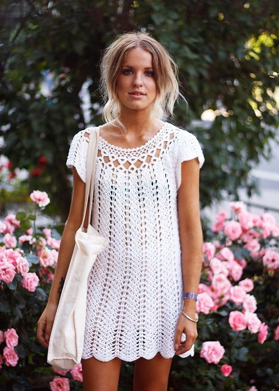 10 Best Crochet Dresses 2019