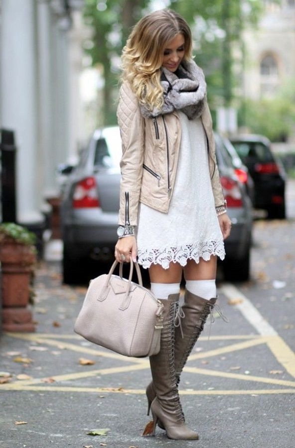 20 Super-Stylish Ways to Wear Knee-High Boots 2020
