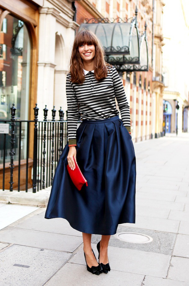 30 Ways To Style Full Skirts 2019 Fashiontasty Com