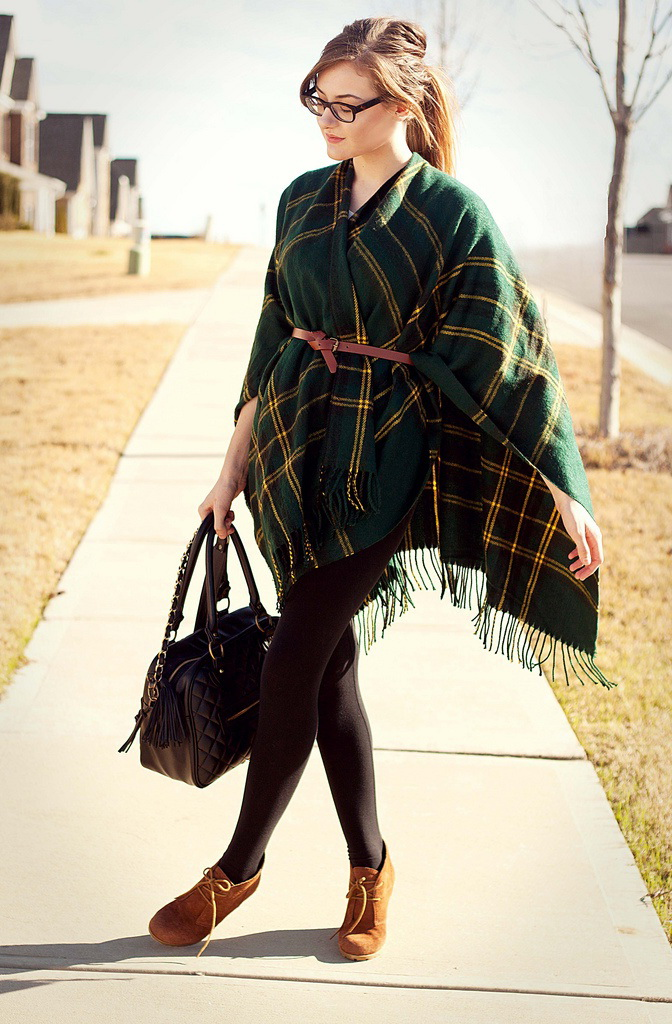 Poncho Outfit Ideas 2017