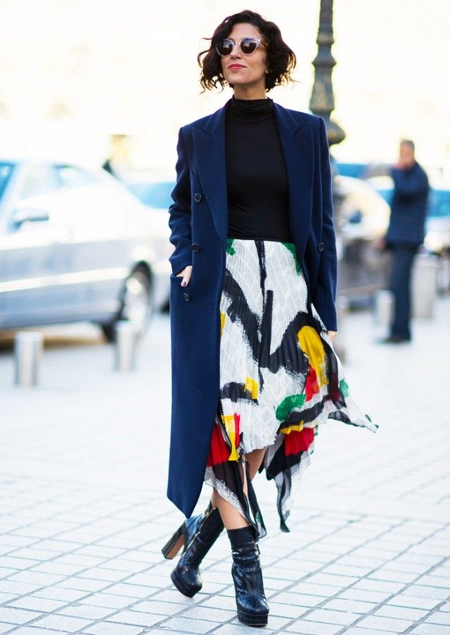 How To Wear Printed Skirts This Winter 2021