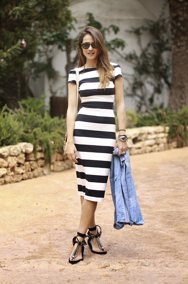 Striped Top Outfits For Women 2020