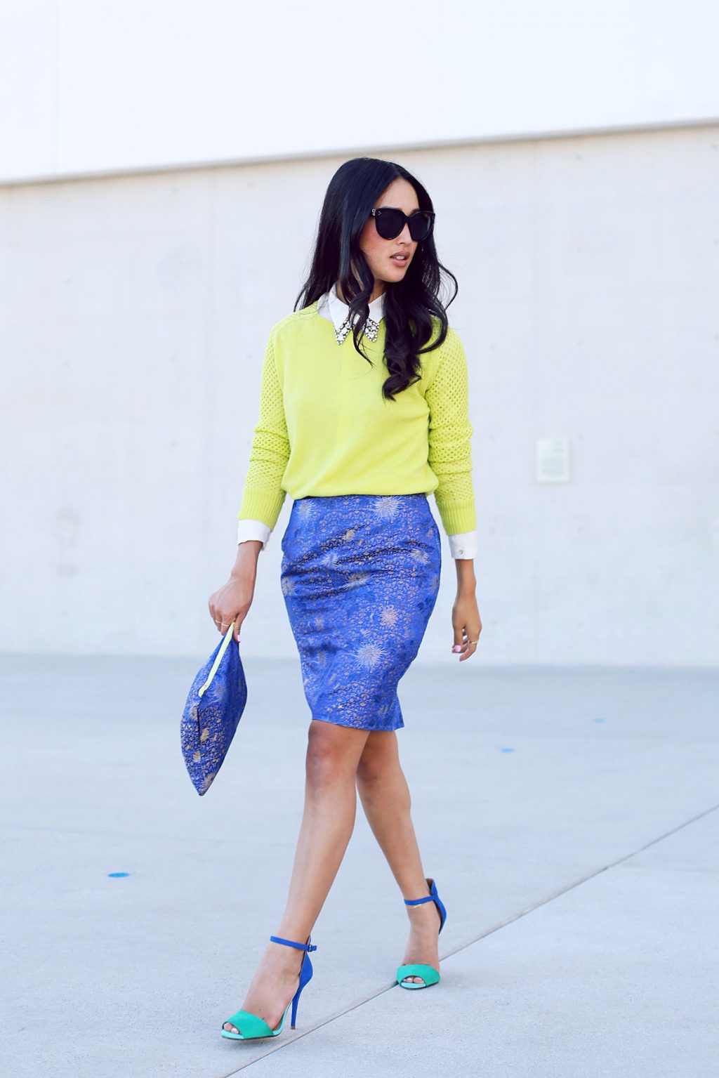 Blue Skirts Outfit Combinations 2020 | FashionTasty.com
