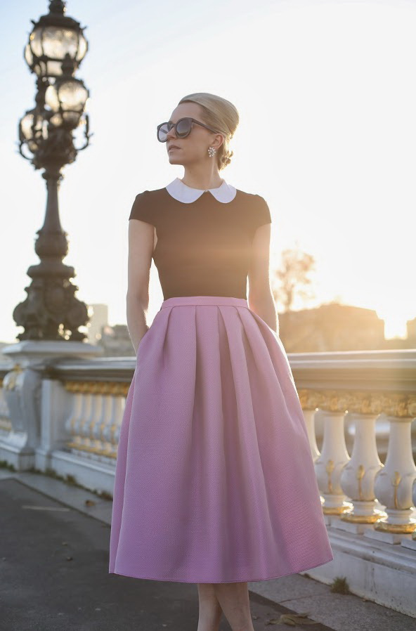 Midi Skirts For Work And Office Wear Ideas 2017