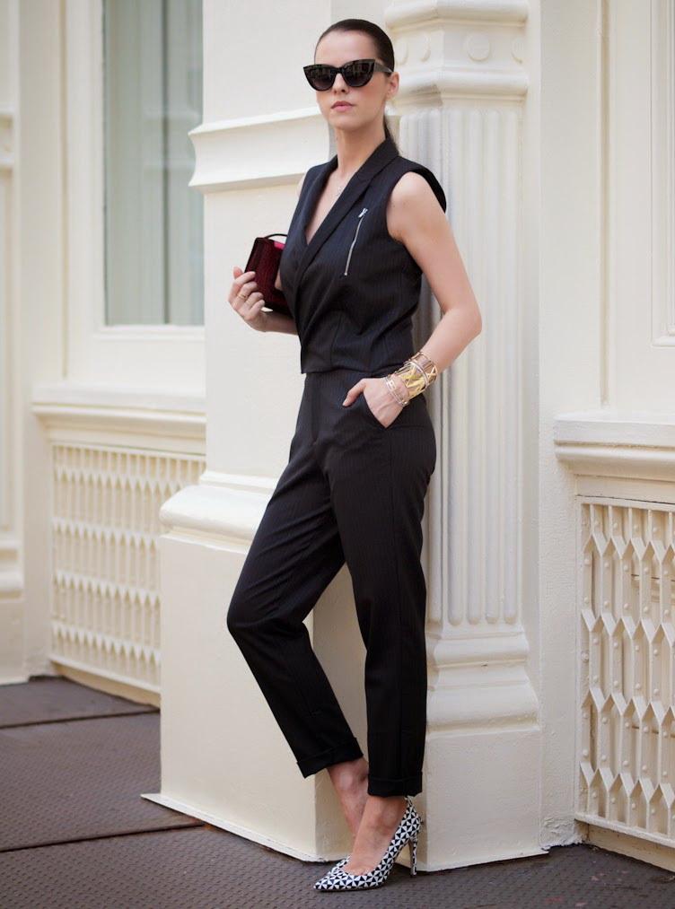 How To Wear A Black Jumpsuit 2019 Fashiontastycom