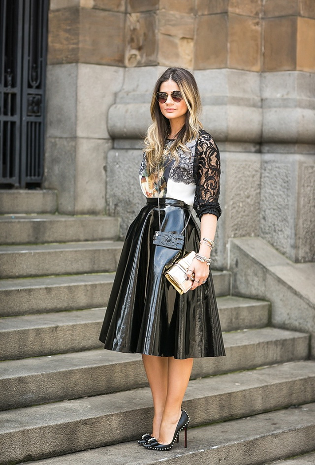 30 Ways To Style Full Skirts 2017