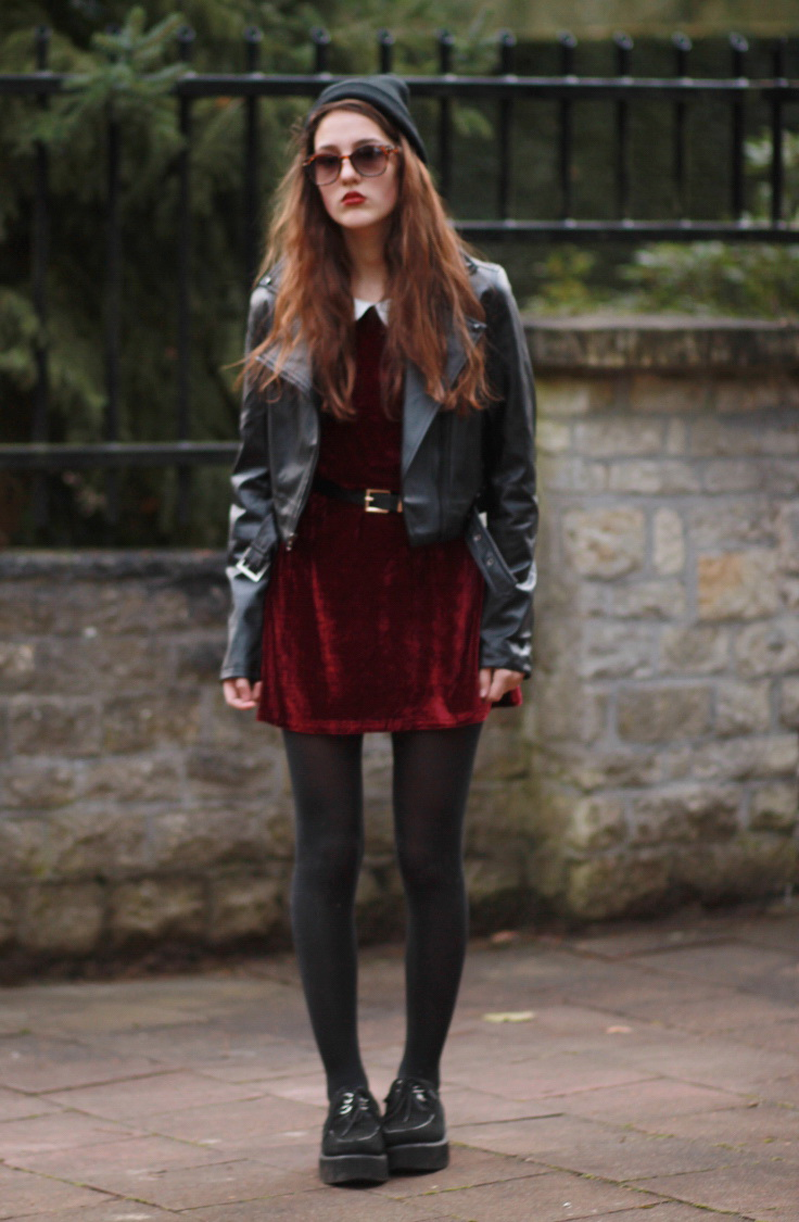 Leather dress jackets