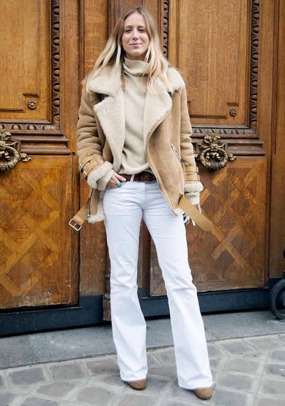 Style Tips On How To Wear Shearling Jackets 2019