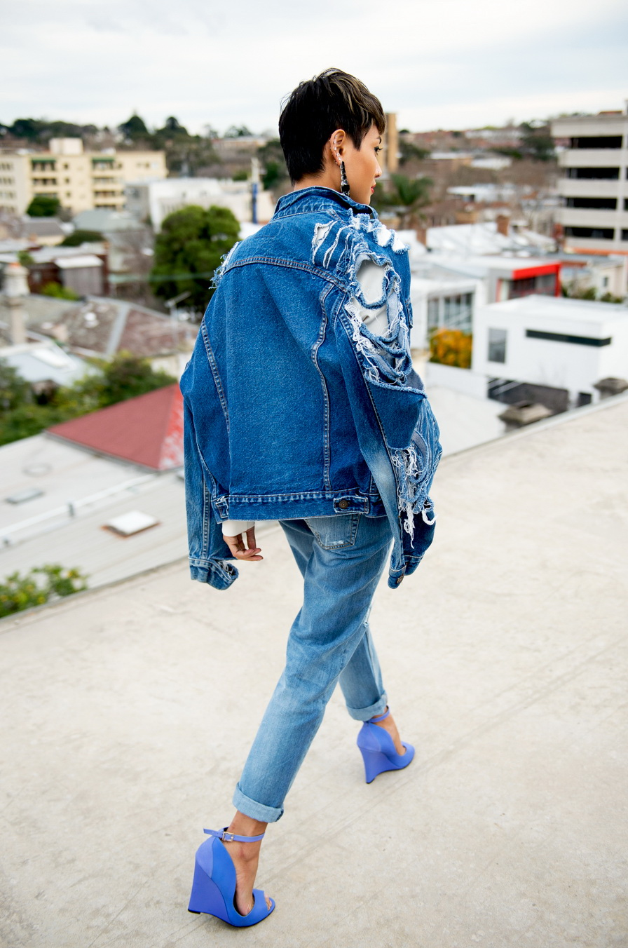 15 Ways to Style a Denim (Jean) Jacket 2019