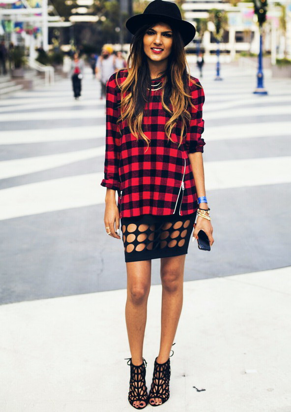 Plaid shirts how to wear