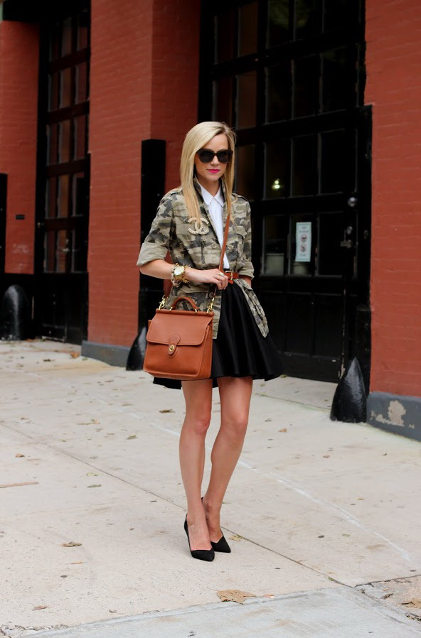 A-line Skirt Outfit Ideas 2017