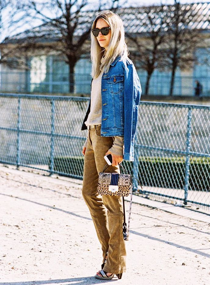 10 Stylish Ways To Wear Suede Pants 2019