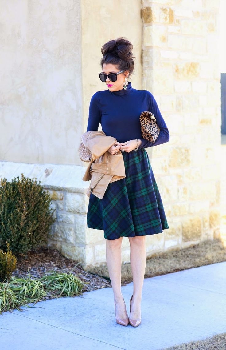 A-line Skirt Outfit Ideas 2021