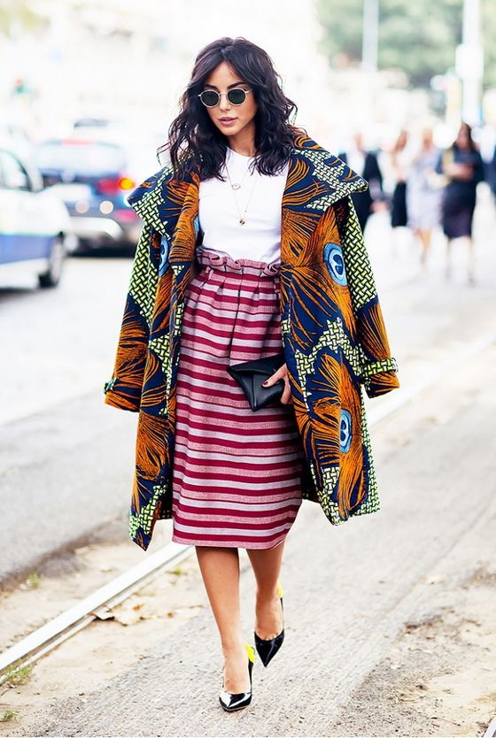 How To Wear Print On Print - Mixed Patterns Outfits 2019