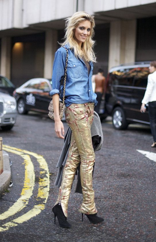 How To Style: Sequin and Metallic Pants 2019