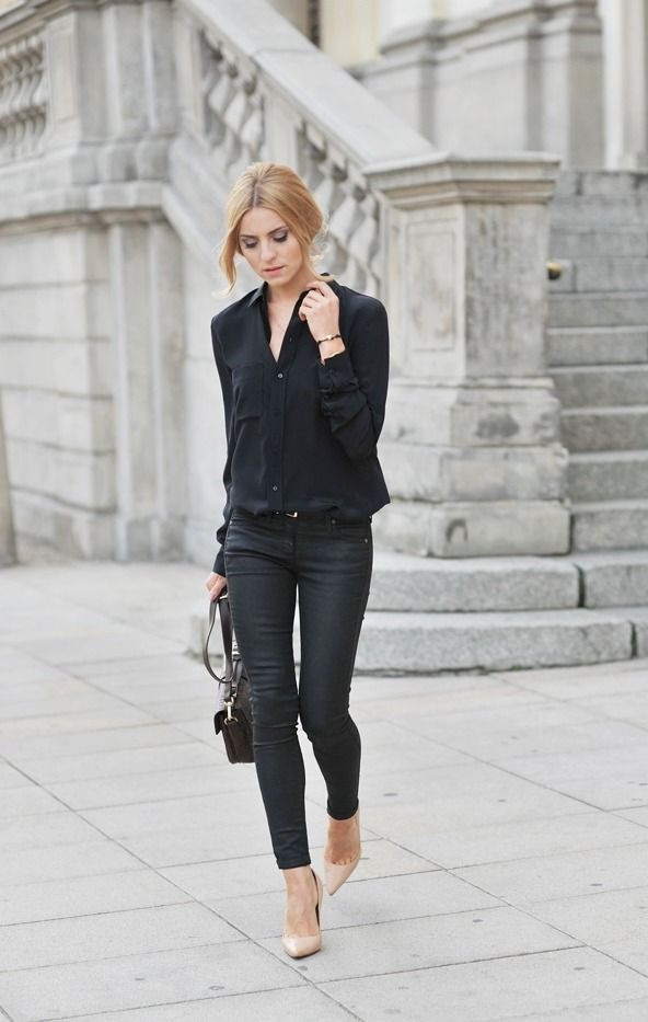 How To Wear Black Jeans 2019