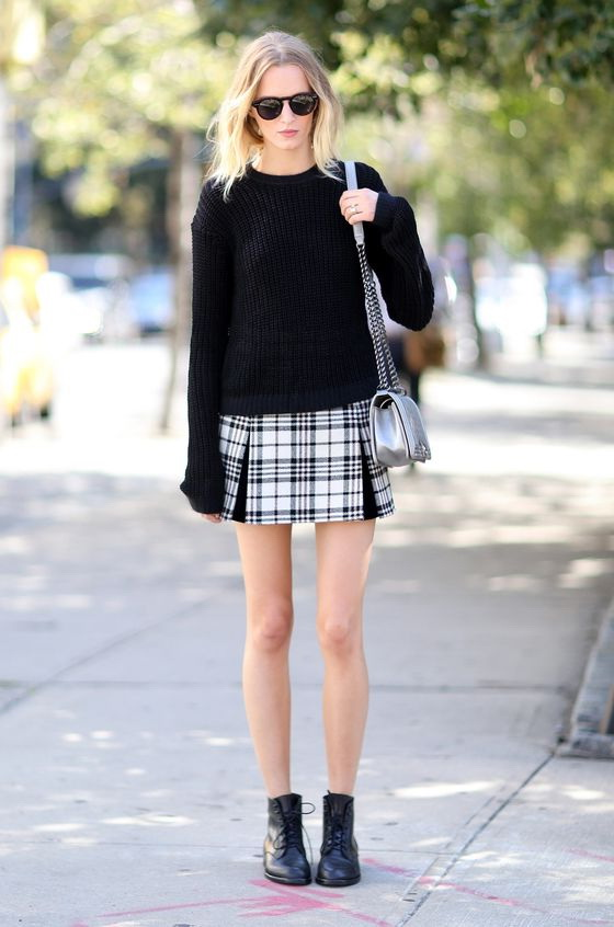 How To Wear Sweaters With Skirts 2019