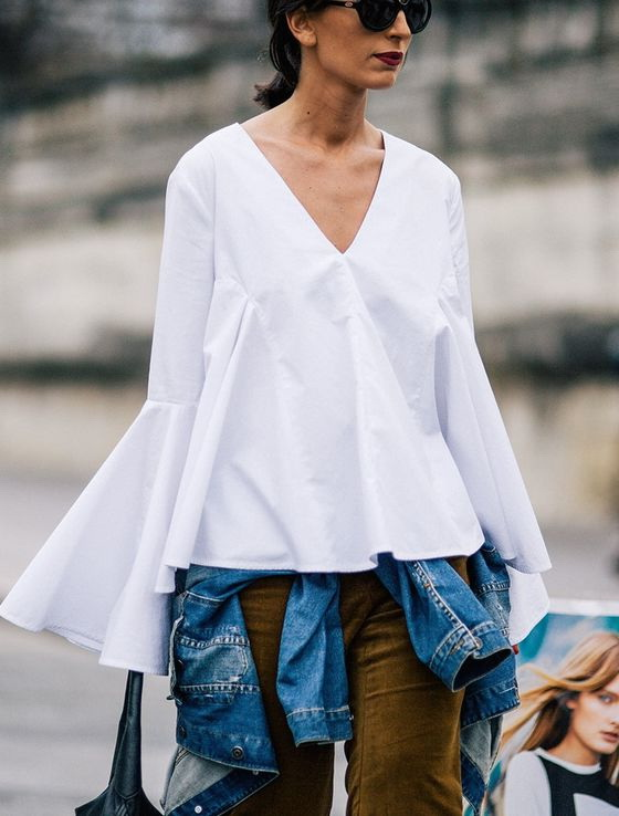 How To Wear A Bell Sleeve Top 2019