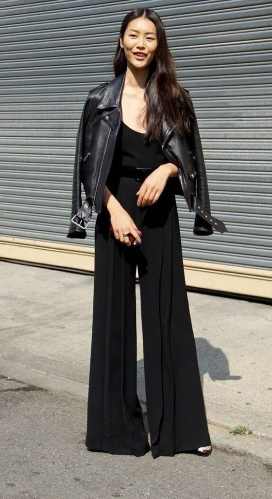 92bf14e23c5d How To Wear A Black Jumpsuit 2019