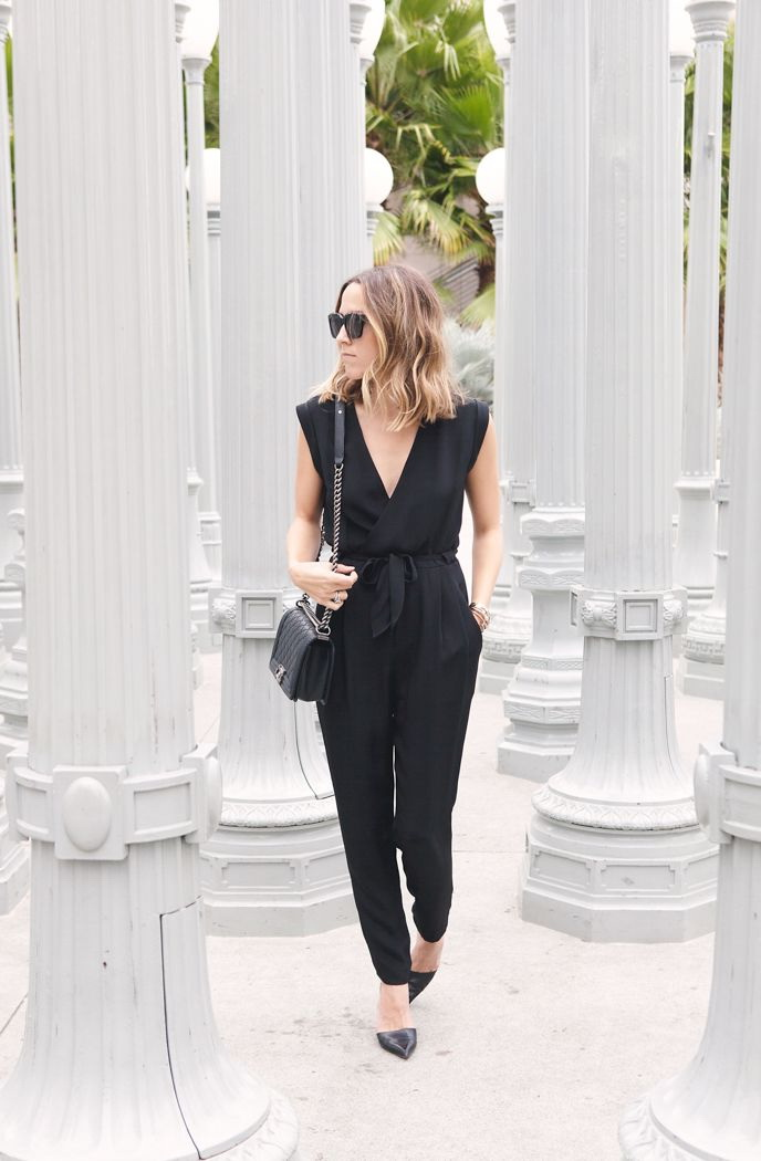 How To Wear A Black Jumpsuit 2020