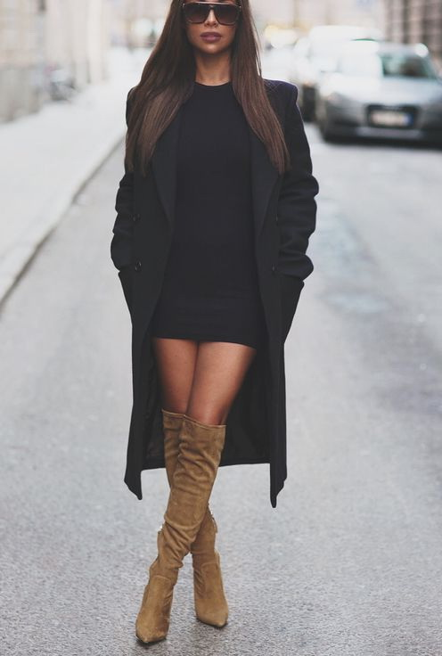 How To Wear Thigh High Boots 2019