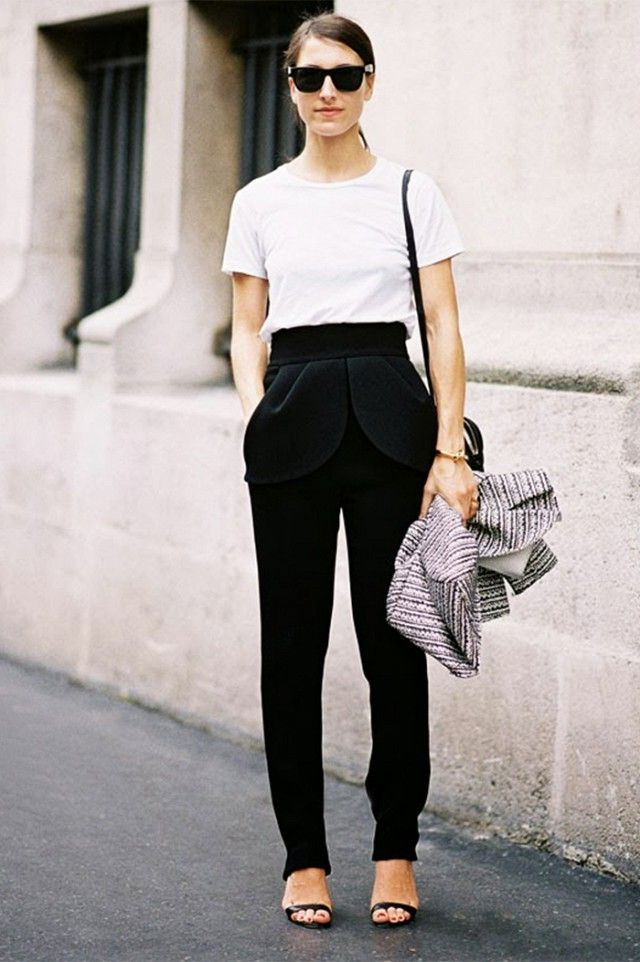 How To Wear Black Pants 2017 | FashionTasty.com