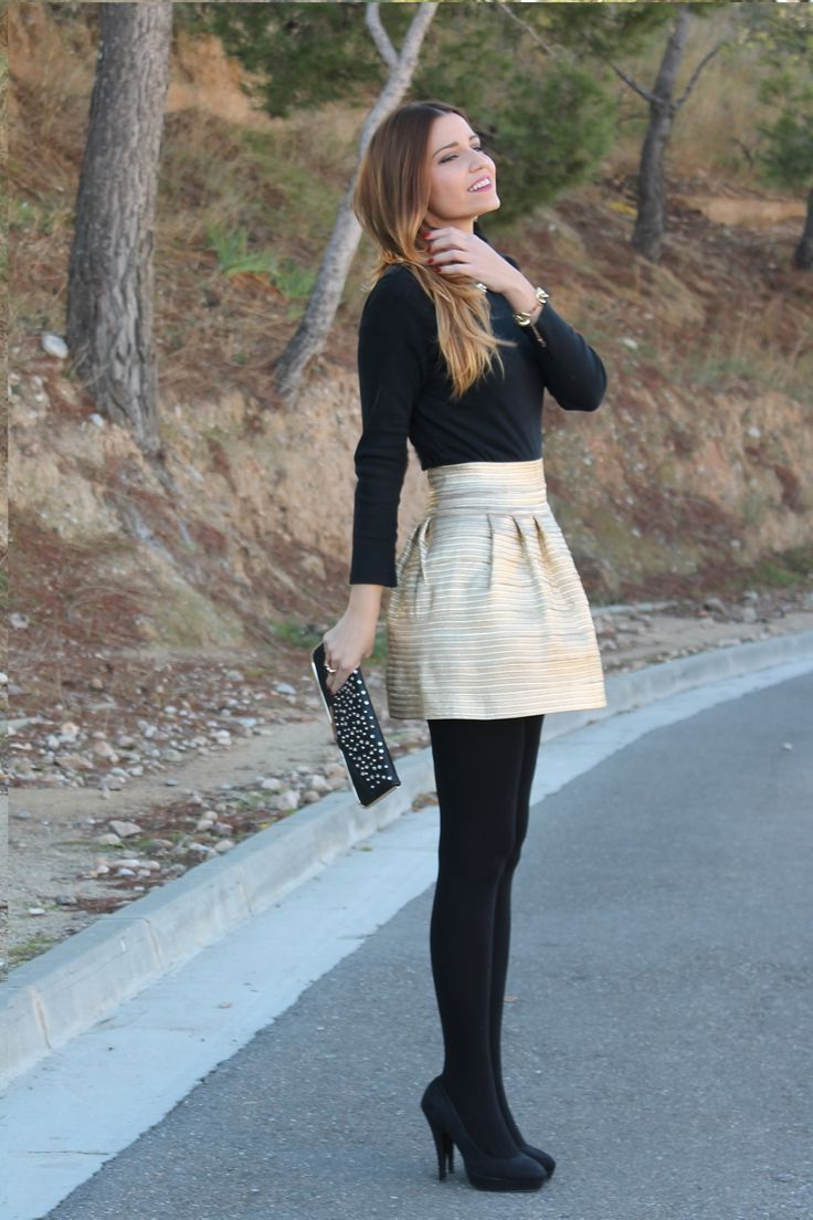 tights skirt