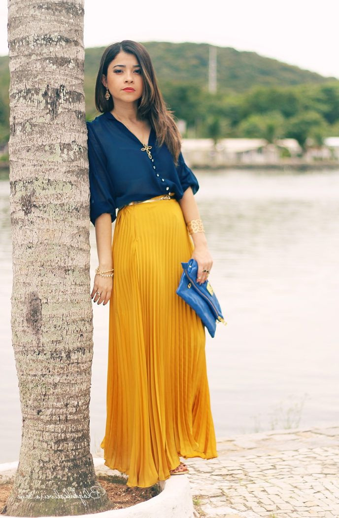 40211eddb82 Long And Maxi Skirts Outfit Ideas 2019
