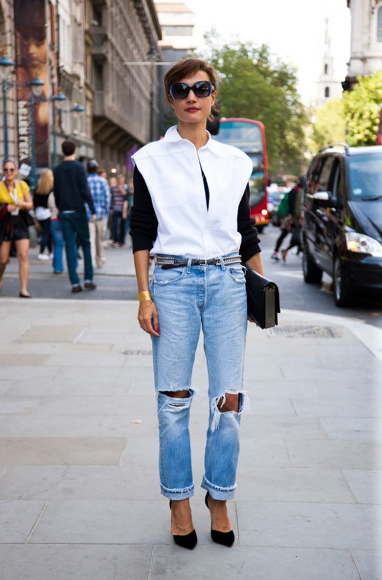How To Wear Boyfriend Jeans (Outfit Ideas) 2019