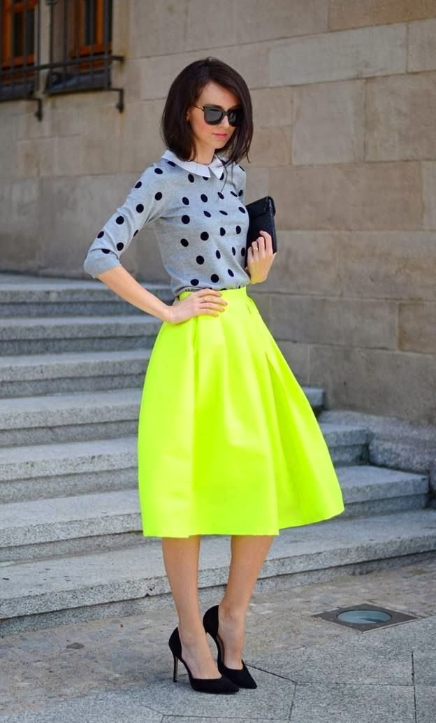 What To Wear With A Yellow Skirt 2020