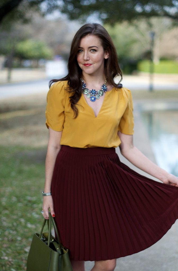Pale Yellow Blouse