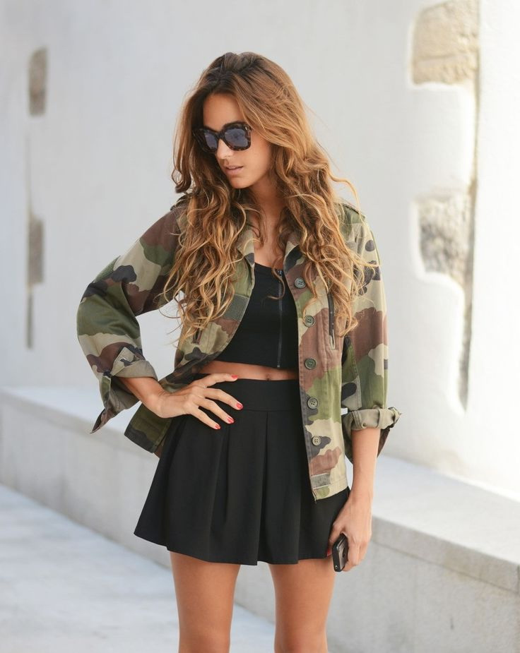 Army Jacket Outfits For Women 2019
