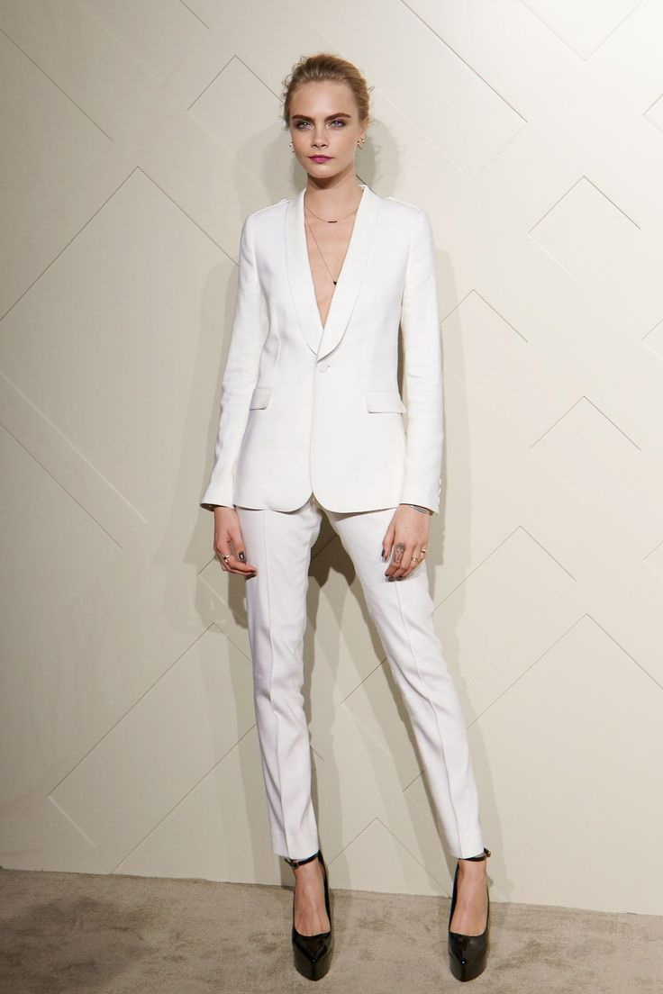 White Pant Suits For Women 2017