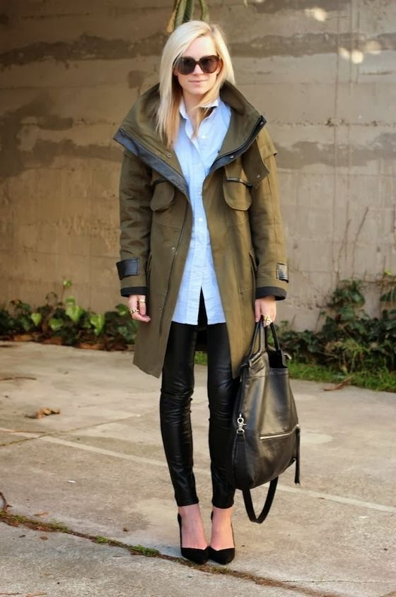 Women's Parka Jackets Outfit Ideas 2019