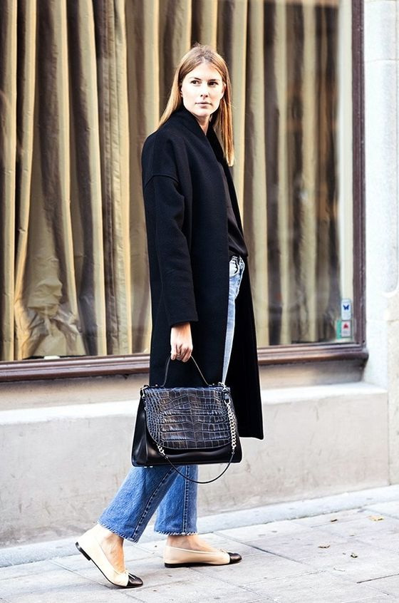 Flat Shoes Outfit Ideas For Fall 2021