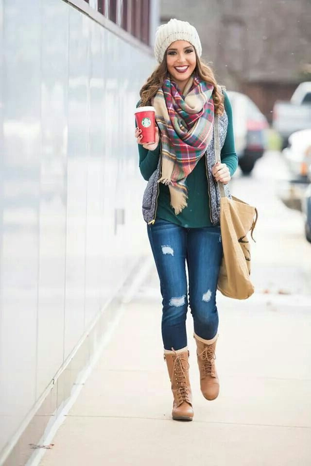 25 Ways To Wear A Scarf Street Style Ideas 2018