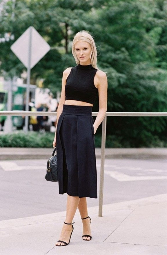 Women's Black Turtlenecks Outfit Ideas 2020