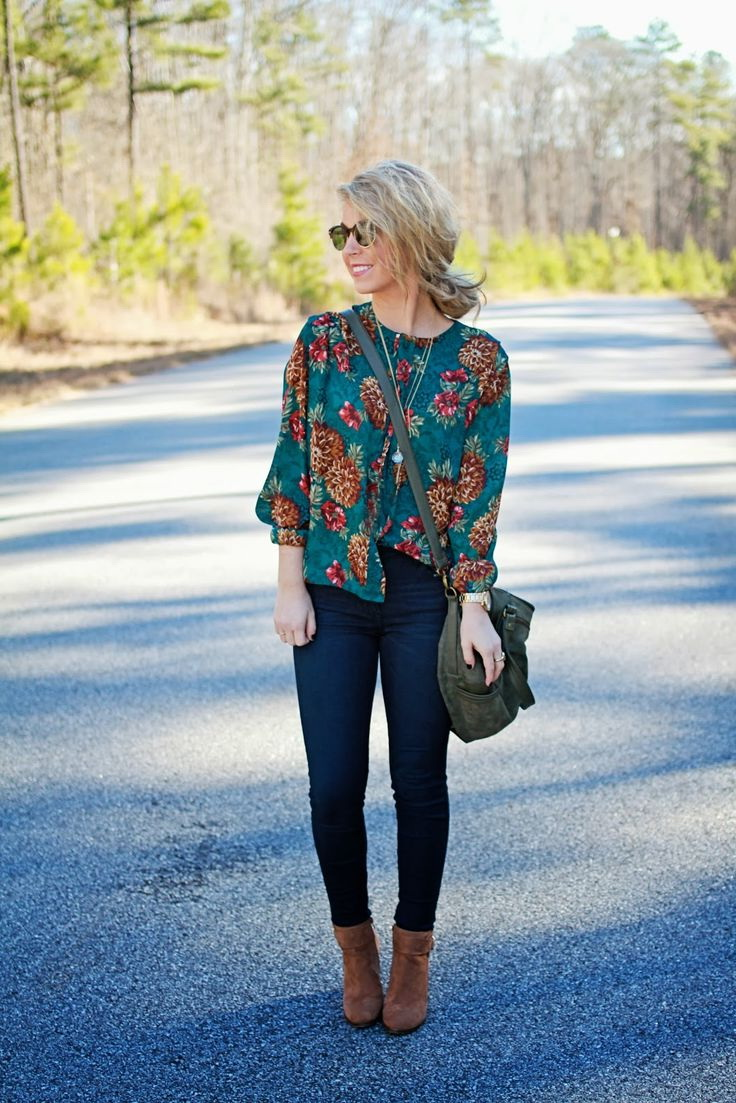 Outfit Inspiration With Printed Tops 2021